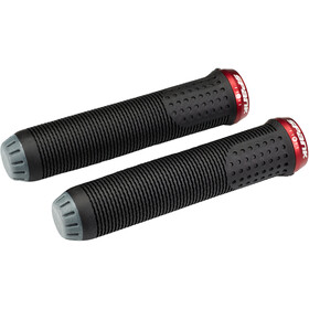Spank Spike 30 Lock-On Puños, black/red